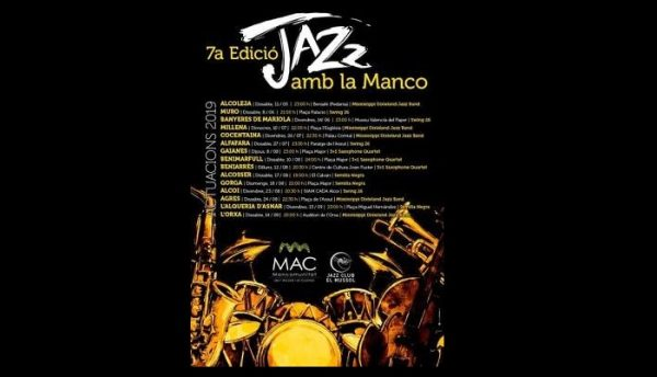 Programación del Jazz amb la Manco 2019