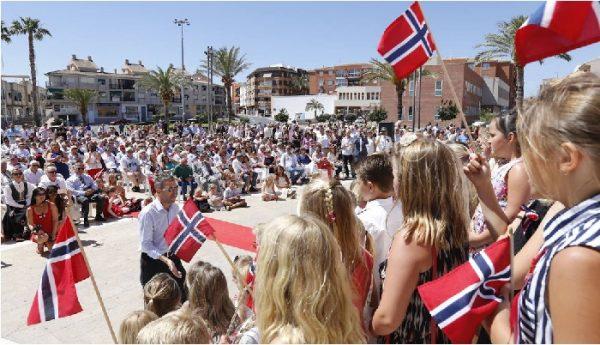 """El noruego """"cultureta"""" de L´Alfás."""