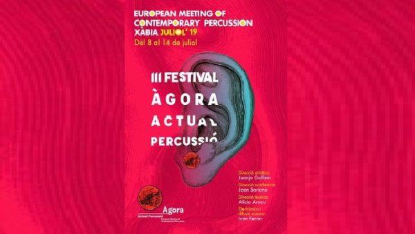 Programación del Festival Ágora Actual Percussió de Xàbia