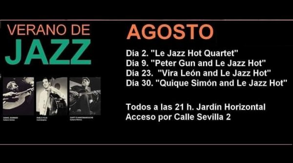 En Agosto Jazz en Las Cigarreras