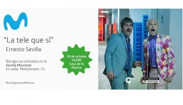 La+Tele+que+s%C3%AD%2C+con+Ernesto+Sevilla+y+Joaqu%C3%ADn+Reyes
