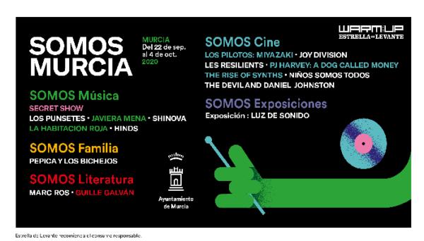 Somos Murcia. Mucho más que un festival.