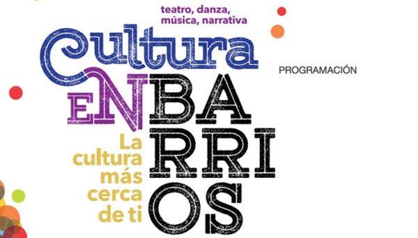 Cultura en Barrios. Otoño 2020