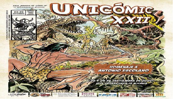 Programación del XXIII Unicómic de Alicante.